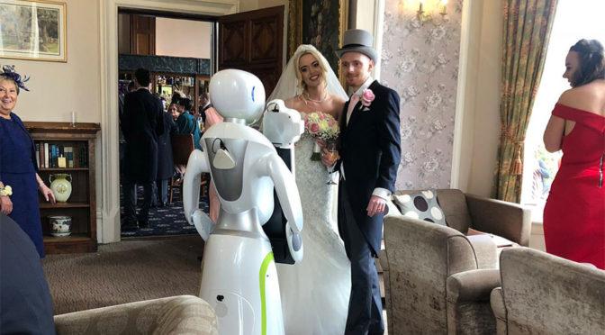Service Robots Eva Photography Robot