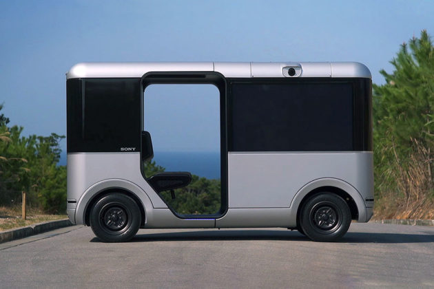 Sony Concept Cart SC-1 5G Trial Guam