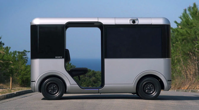 Sony And Docomo To Test Sony's Driverless Concept Vehicle via 5G Trial Network in Guam