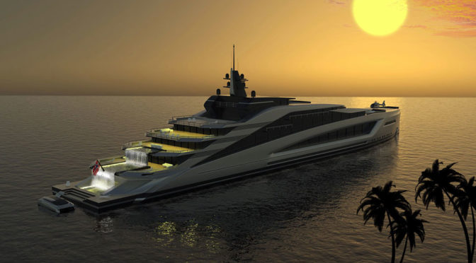 Strand Craft California Superyacht Concept