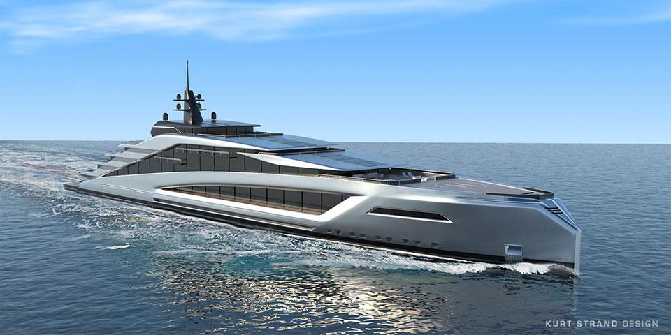 Strand Craft California Superyacht Concept