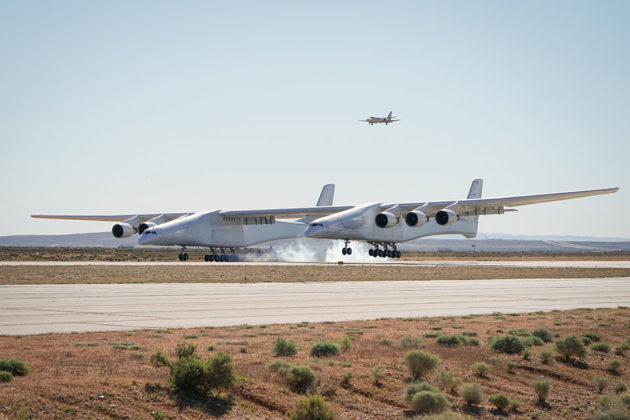 Stratolaunch Aircraft Flew For The First Time