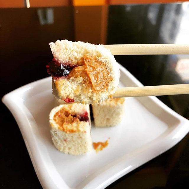 Sushi Sushi NYC PB +J Roll