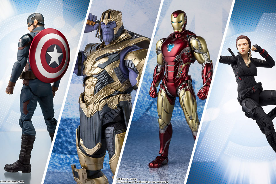 Tamashii Nations S.H. Figuarts Avengers: Endgame Action Figures