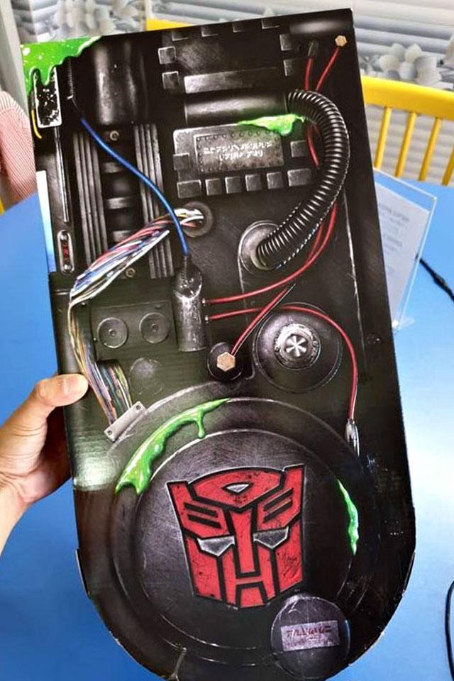 Transformers MP-1GB Optimus Prime Ecto-35 Edition