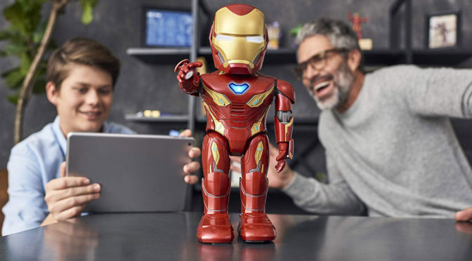 UBTech <em>Iron Man</em> Robotic Toy Lets Your Play Out Your Superhero Fantasy