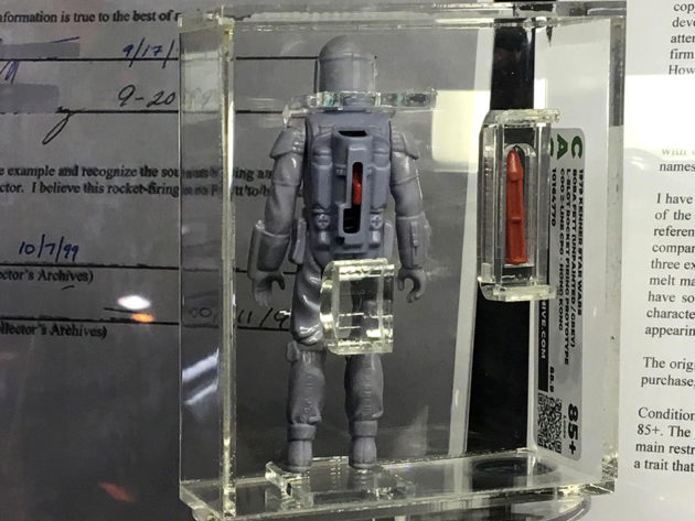 Vintage Not Released Boba Fett Action Figure