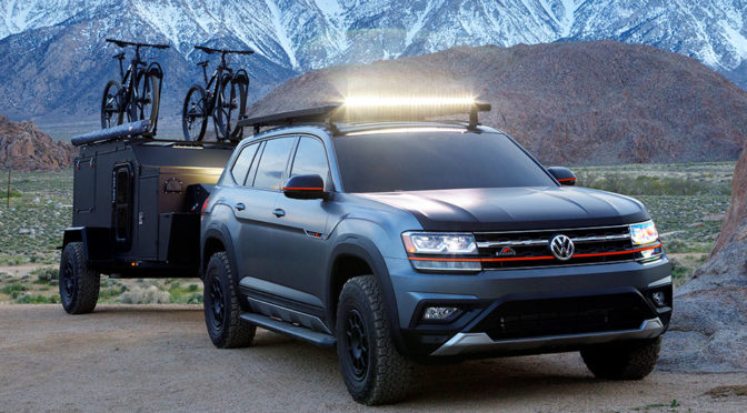 Volkswagen Atlas Basecamp Concept: How To Go Off-Road With Your Atlas
