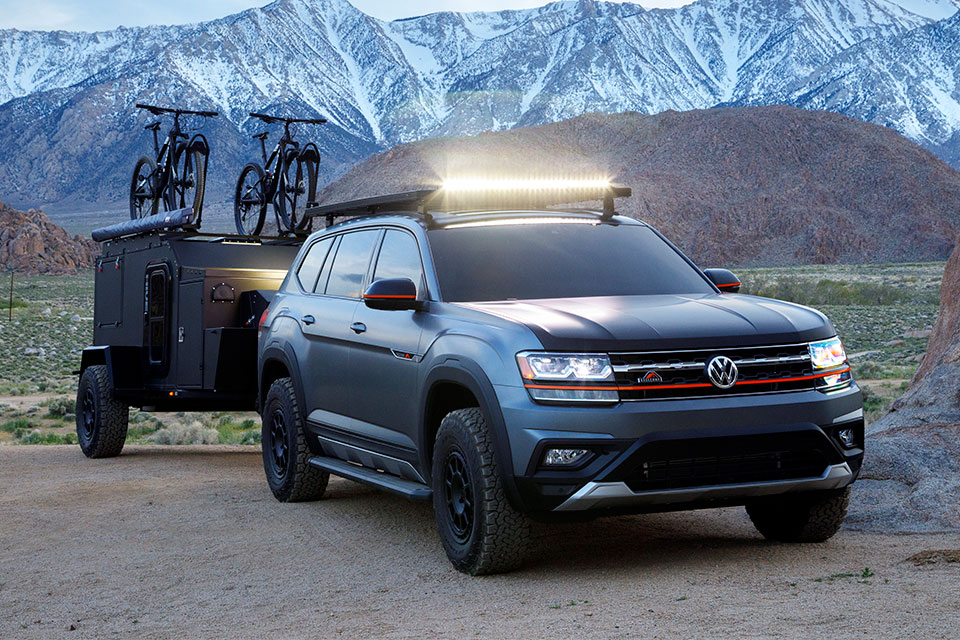 Volkswagen Atlas Basecamp Concept How To Go Off Road With