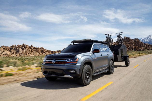 Volkswagen Atlas Basecamp Concept Unveiled