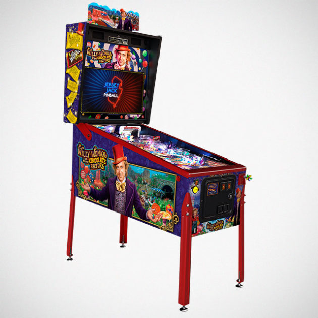 Willy Wonka and the Chocolate Factory Pinball Machine