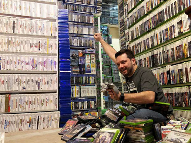 World's Largest Collection of Video Games