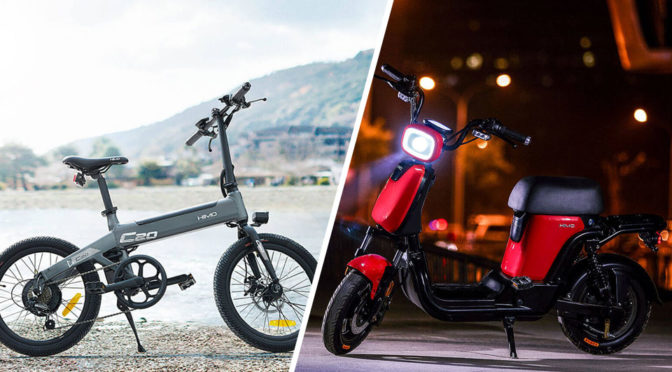 Xiaomi Unveiled New Electric Mobility Devices Under HIMO Sub-brand