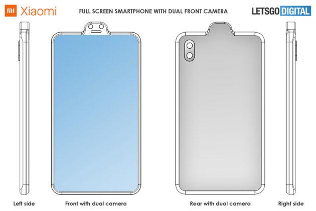 Xiaomi Patents External Camera Notch