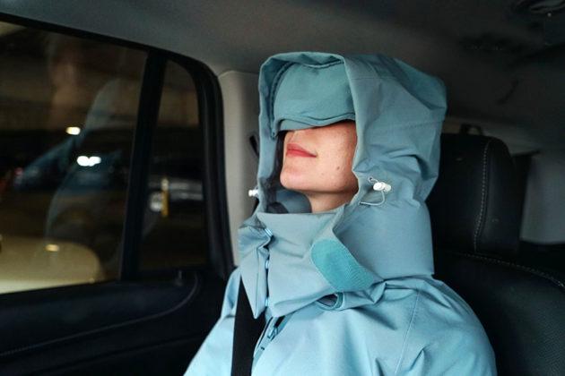 AirOgo Travel Pillow Pilloon Jacket