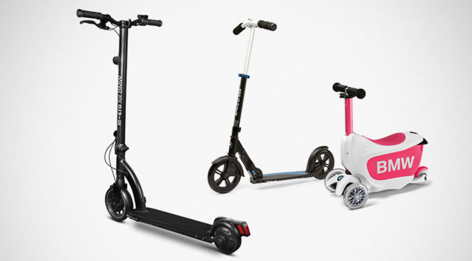 BMW Launches Three New Scooters With Micro Mobility Systems AG