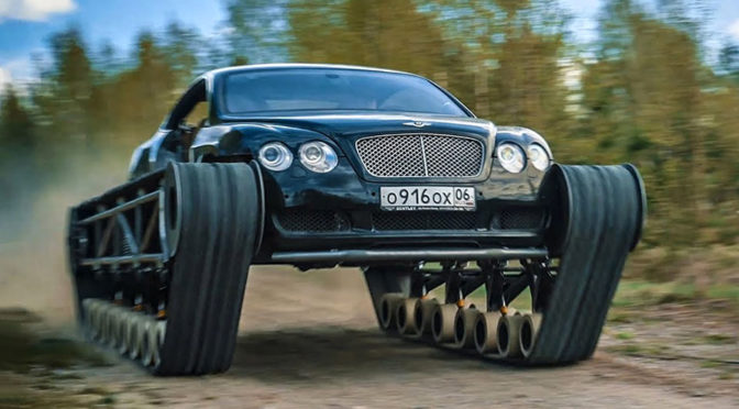 Bentley Ultratank Bentley With Tank Treads