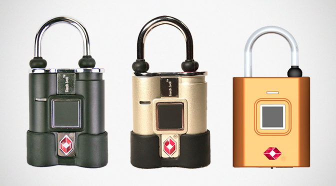 Forget About Key Or Numbers, This TSA Padlock Uses Fingerprint To Unlock