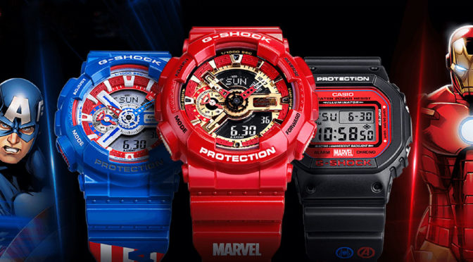 CASIO Launches <em>Avengers</em> G-Shock Collection In China