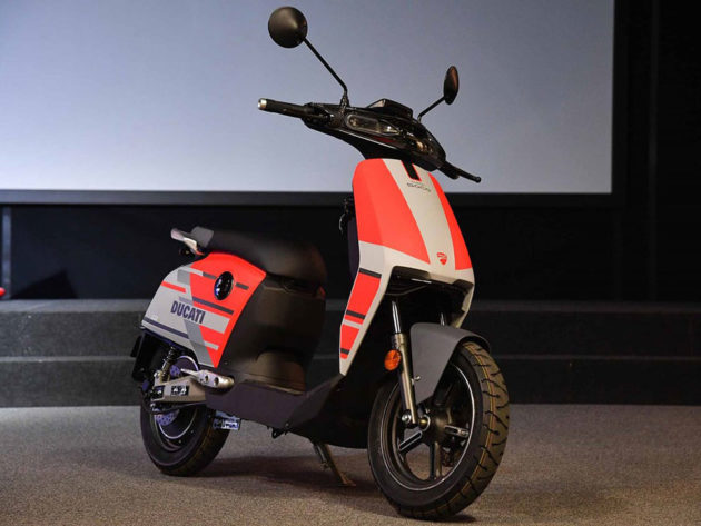 CUx Special Edition Ducati Electric Scooter