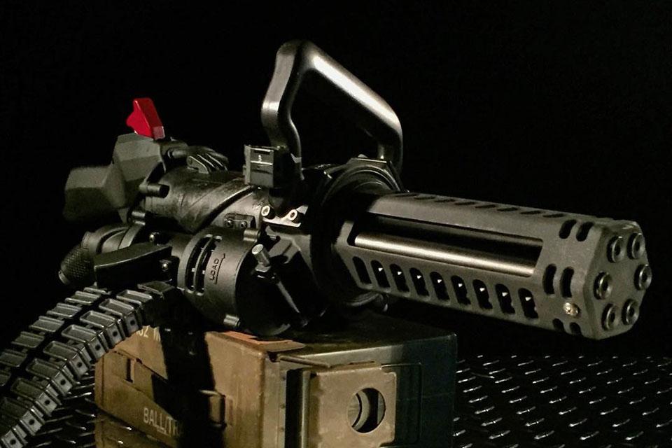 Empty Shell XM556 Microgun