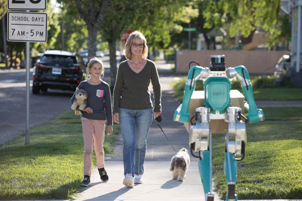 Ford Digit Biped Delivery Robot