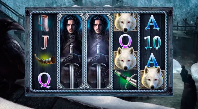 Game of Thrones Slots Machine Game