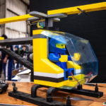 This Giant Flying LEGO Helicopter Is Actually A Functional Drone