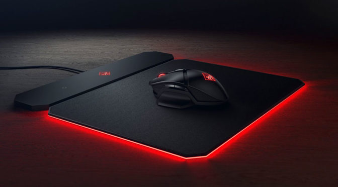 HP Omen Photon Wireless Mouse and Outpost Mousepad