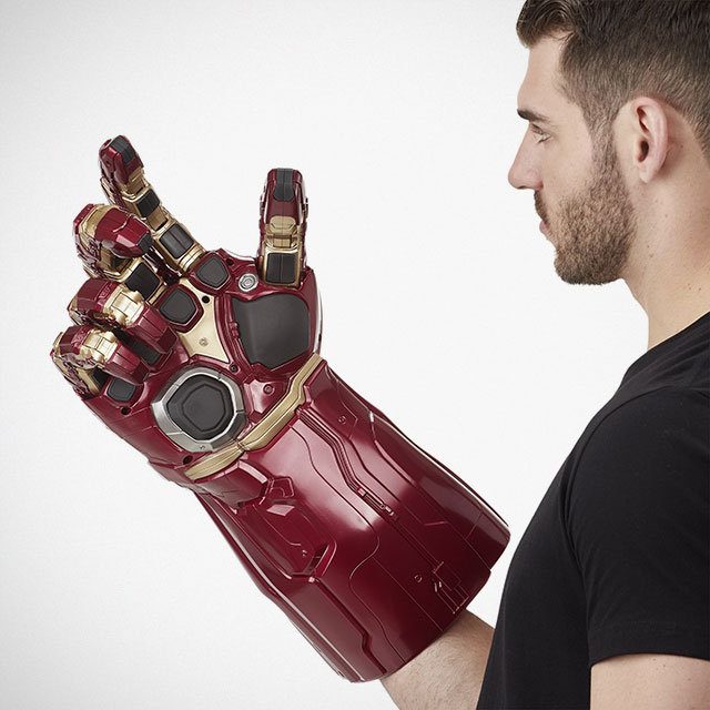 Marvel Legends Series Avengers_ Endgame Electronic Power Gauntlet