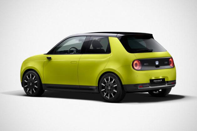 Honda e Electric Car Reservation Opens