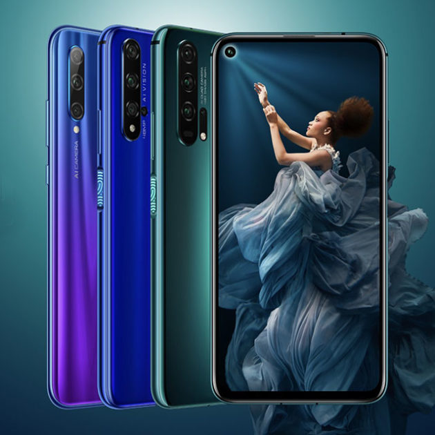Honor Launches 20 Series Smartphones