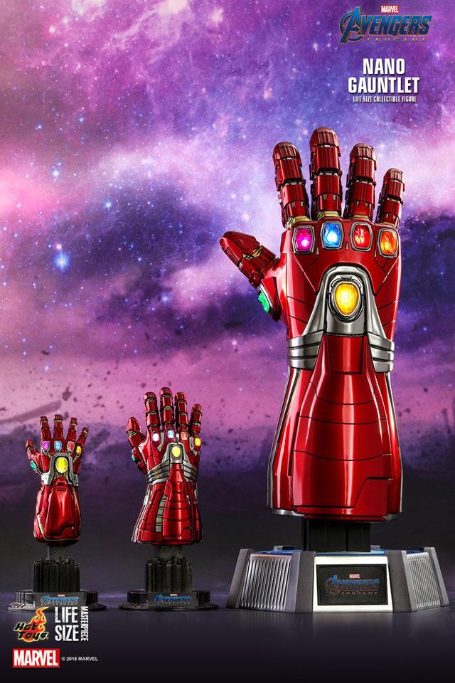 Hot Toys Avengers Endgame Life-size Nano Gauntlet
