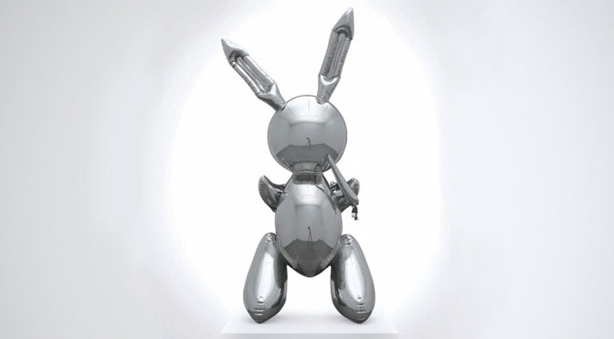 Jeff Koons Rabbit Sculpture Sold For $91M