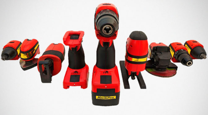 KwikPro Modular Power Tool System: All Your Power Tool Needs In One Case