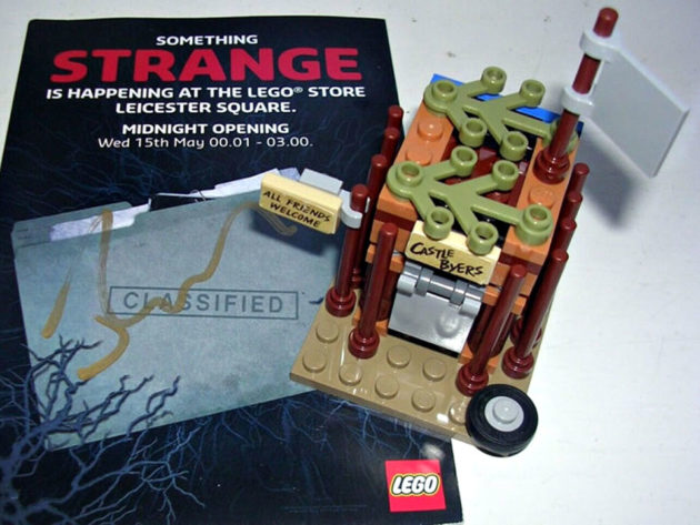 LEGO Castle Byers Build Instructions