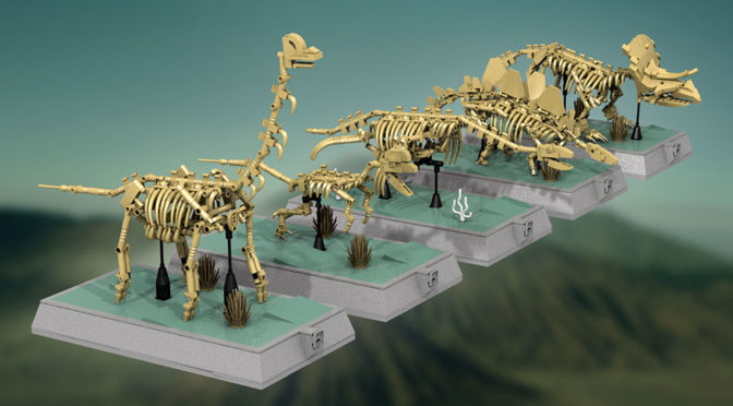 Good News Dino Fans, The Next LEGO Ideas Set Will Be Dinosaur Skeletons
