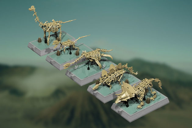 LEGO Dinosaurs Skeletons Approved