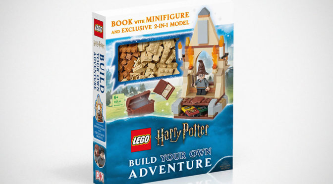 LEGO <em>Harry Potter</em> Book Comes With Minifig And Buildable 2-In-1 Model