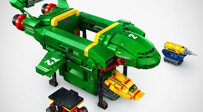 LEGO MOC Thunderbirds Are Go Set