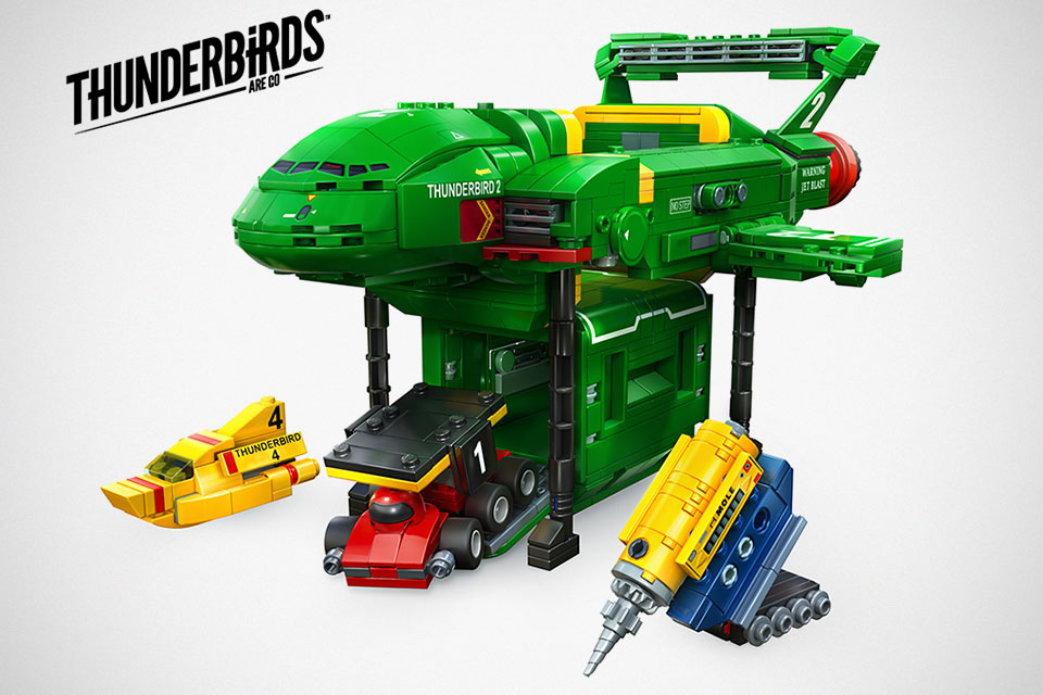 Want A LEGO Thunderbirds Are Go Set? Then Support It On LEGO