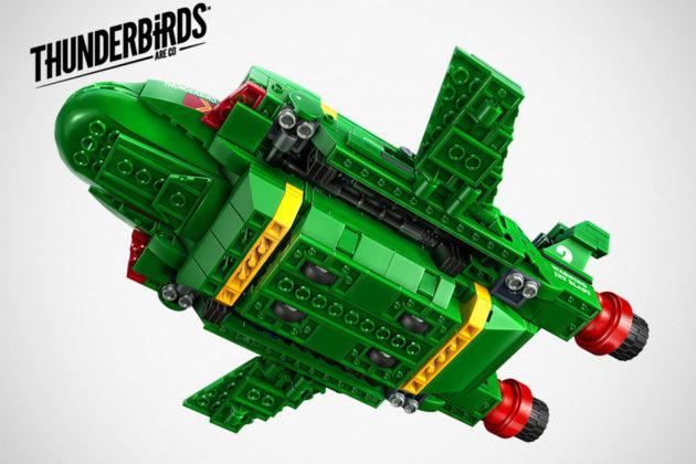 LEGO MOC Thunderbirds Are Go Set