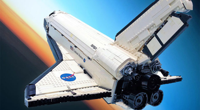 "Here's To Hoping This LEGO ""UCS-Style"" Space Shuttle Atlantis Gets The Nod"