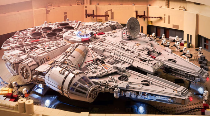 Amazing LEGO MOC Millennium Falcon From 2015 Got Updated