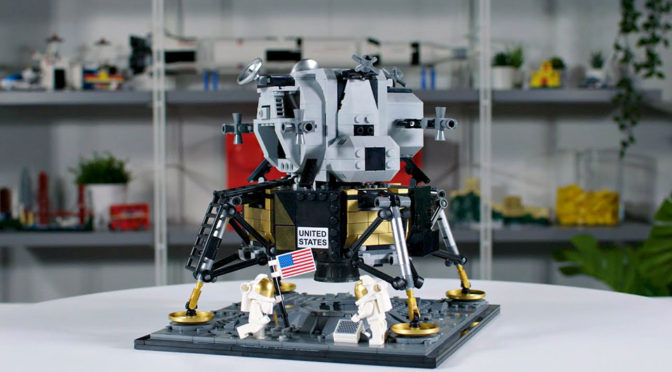 LEGO Marks 50th Anniversary Of Moon Landing With Apollo 11 Lunar Lander