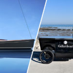 Peugeot Designed Latitude 46 Tofinou 9.7 Sailboat And Gillardeau Food Bike