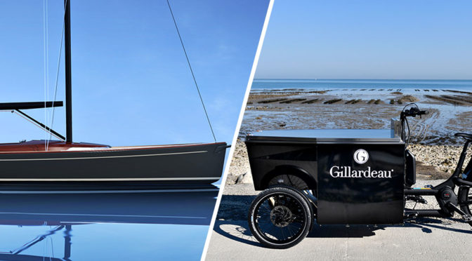 Latitude 46 Sailboat and Gillardeau Food Bike