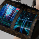 Louis Vuitton Flexible Display Handbags' Display Was Created By Royole