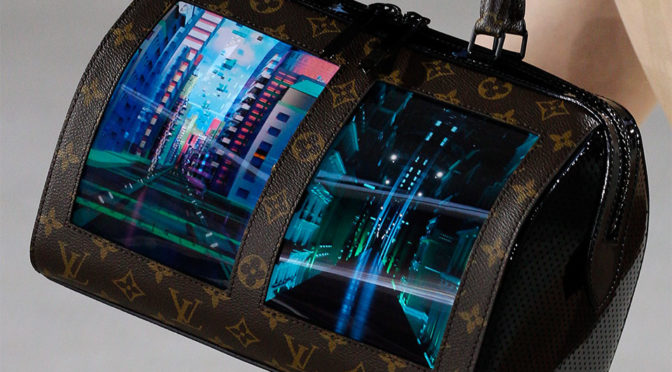 Louis Vuitton Flexible Display Handbags
