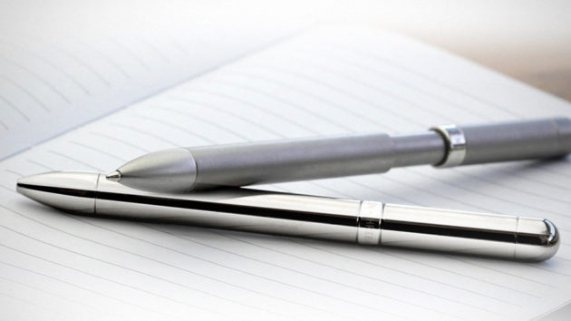 MAGNO-INK Magnetically-powered Anti-roll Pen